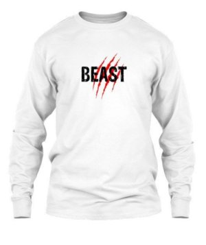 Beast, Men's Long Sleeves T-shirt