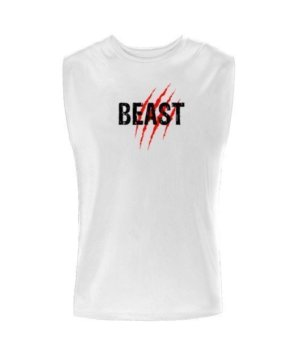 Beast, Men's Sleeveless T-shirt