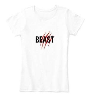 Beast, Women's Round Neck T-shirt