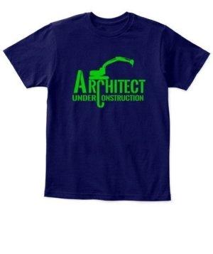 ARCHITECT under construction, Kid's Unisex Round Neck T-shirt