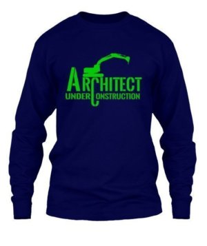 ARCHITECT under construction, Men's Long Sleeves T-shirt
