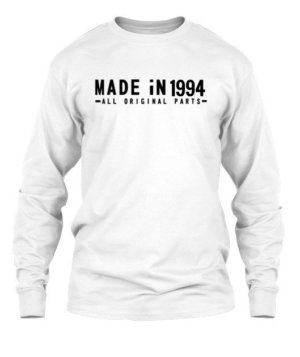 MADE iN 1994 customize t-shirt, Men's Long Sleeves T-shirt