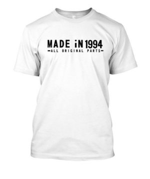 MADE iN 1994 customize t-shirt, Men's Round T-shirt