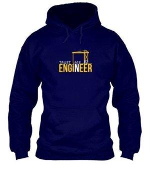 Trust me ENGINEER, Men's Hoodies