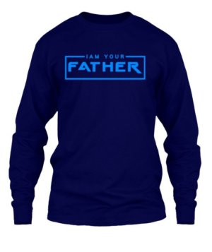 I AM YOUR FATHER, Men's Long Sleeves T-shirt