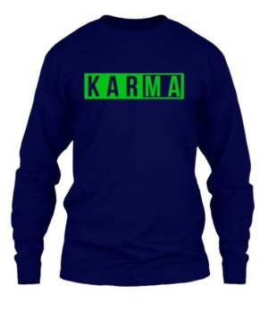 KARMA, Men's Long Sleeves T-shirt