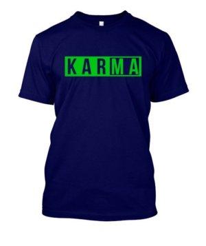KARMA, Men's Round T-shirt