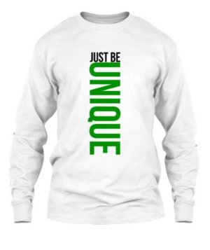 Just be UNIQUE, Men's Long Sleeves T-shirt