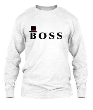BOSS, Men's Long Sleeves T-shirt