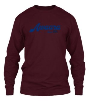 Awaara Since 1991 customize t-shirt, Men's Long Sleeves T-shirt