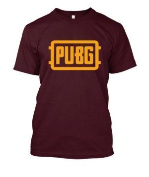 PUBG, Men's Round T-shirt