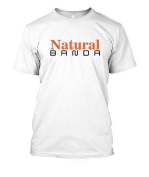 Natural BANDA, Men's Round T-shirt