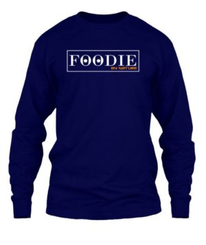 FOODIE by nature, Men's Long Sleeves T-shirt