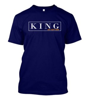 KING by nature, Men's Round T-shirt