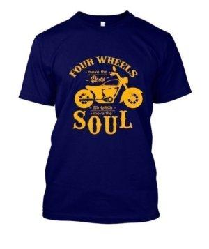 Bike Rider Tshirt, Men's Round T-shirt