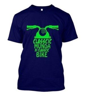 Classic Mundi Di Classic Bike, Men's Round T-shirt