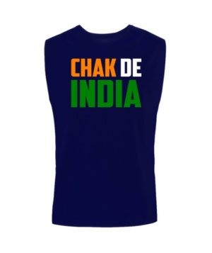 Chak de India, Men's Sleeveless T-shirt