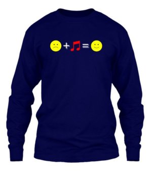 music happiness, Men's Long Sleeves T-shirt