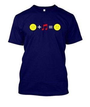 music happiness, Men's Round T-shirt