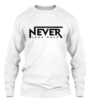 NEVER LOOK BACK, Men's Long Sleeves T-shirt