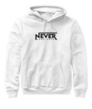 NEVER LOOK BACK, Women's Hoodies