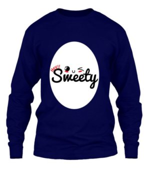 Hey Sweety, Men's Long Sleeves T-shirt