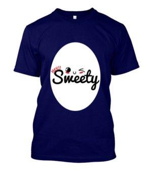 Hey Sweety, Men's Round T-shirt