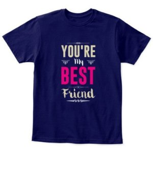 Best friend, Kid's Unisex Round Neck T-shirt