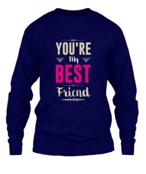 Best friend, Men's Long Sleeves T-shirt
