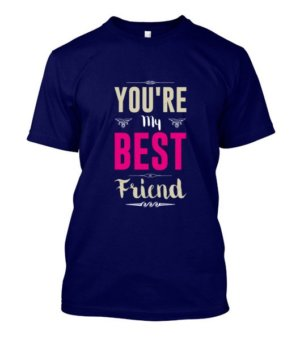 Best friend, Men's Round T-shirt