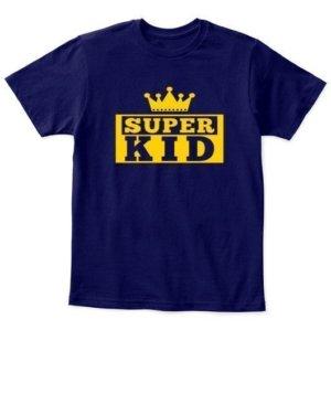 Super Kid, Kid's Unisex Round Neck T-shirt