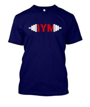 gym, Men's Round T-shirt