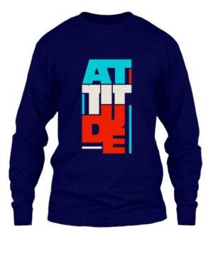 Attitude, Men's Long Sleeves T-shirt