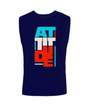 Attitude, Men's Round T-shirt