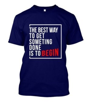 Inspirational Tshirt, Men's Round T-shirt