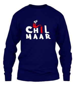 Chil Maar, Men's Long Sleeves T-shirt