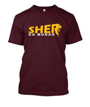 Sher da Munda, Men's Round T-shirt