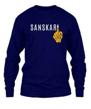 Sanskari, Men's Long Sleeves T-shirt