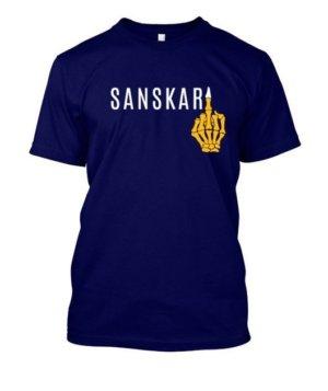Sanskari, Men's Round T-shirt
