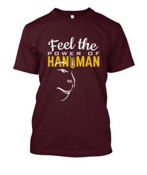 Power Of Hanuman, Men's Round T-shirt