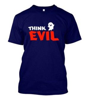 Think Evil, Men's Round T-shirt