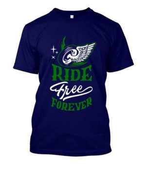 Ride Free Forever, Men's Round T-shirt