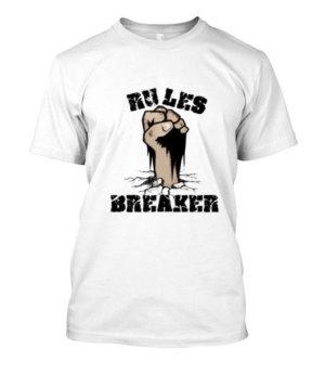 Rules Breaker, Men's Round T-shirt