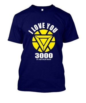 I love you 3000, Men's Round T-shirt