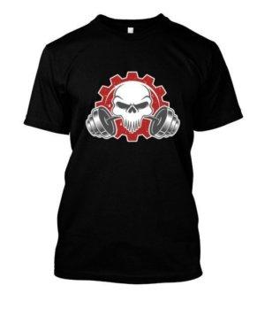 Skull, Men's Round T-shirt