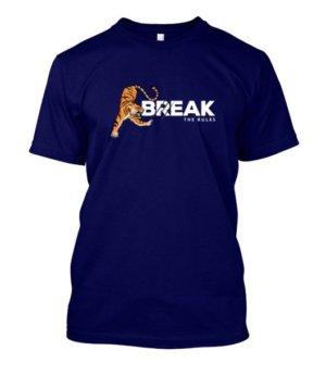 Break the rules, Men's Round T-shirt