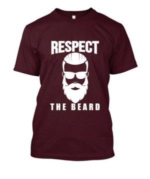 Respect the beard, Men's Round T-shirt