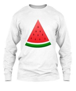 watermelon, Men's Long Sleeves T-shirt