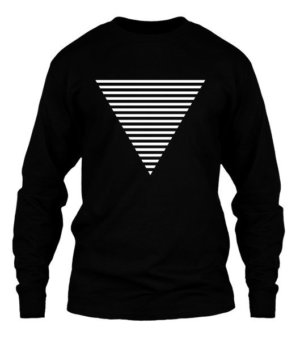 Triangle, Men's Long Sleeves T-shirt