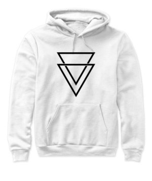double triangles, Women's Hoodies